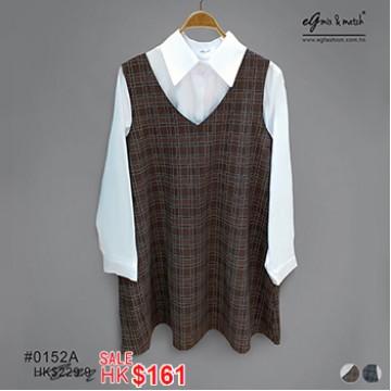 0152A 針織X裇衫