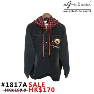 1817A 熊仔T-Shirt款衛衣