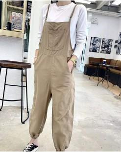 淨色窄腳工人褲 - 3551A #全店新品4件起75折優惠碼:-25OFF (HK$173) #