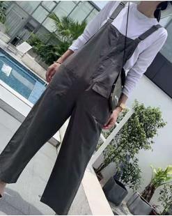淨色直筒工人褲 - 3552A  #全店新品4件起75折優惠碼:-25OFF (HK$150) #