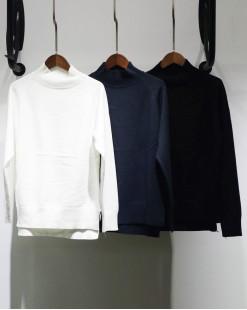 高領顯瘦修身棉料長袖T-2048A #特價優惠5折:HK$60#