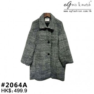 條紋Coat