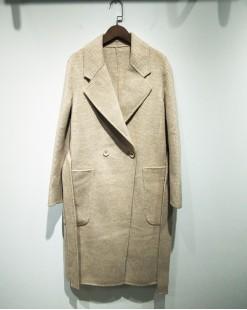 經典格紋束腰大衣外套 - 2071C #特價優惠5折:HK$383 #(韓國直送)