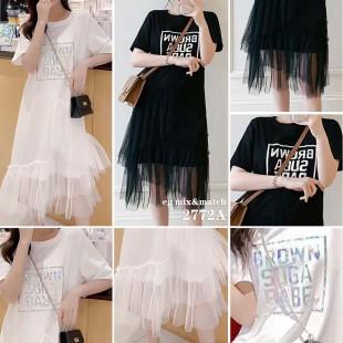 時尚連身裙 - 2772A