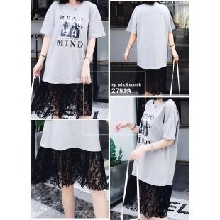時尚連身裙 - 2781A