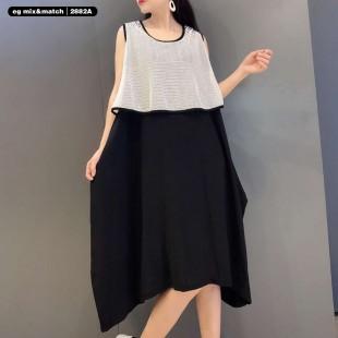 時尚連身裙-2882A