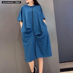 時尚連身裙-2884A