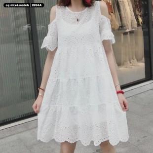 時尚連身裙 - 2894A