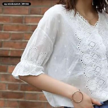 中袖恤衫 - 2914A