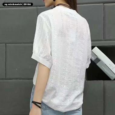 中袖恤衫 - 2916A