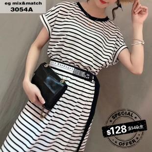 時尚連身裙-3054A