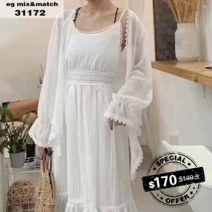 休閒套裝裙 - 31172