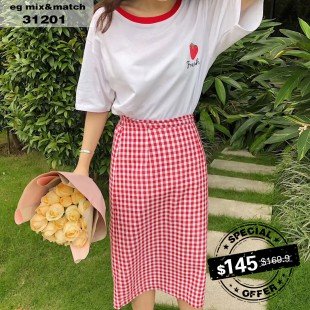 休閒套裝裙 - 31201
