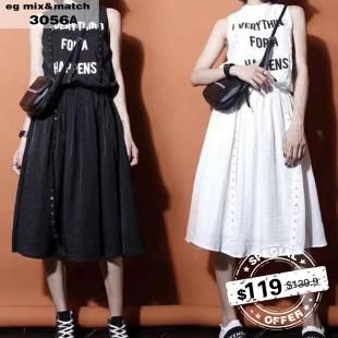 時尚連身裙-3056A