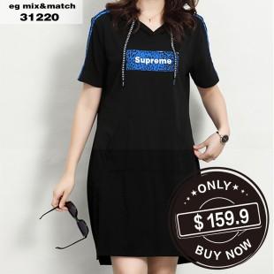 時尚連身裙 - 31220