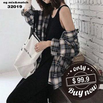 時尚連身裙 - 32019