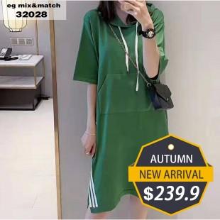 時尚連身裙 - 32028