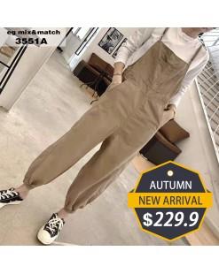 【新品】淨色窄腳工人褲 - 3551A #全店新品4件起75折:HK$173 #
