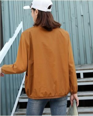 【新品】圓領淨色雙袋長袖T-3560C #全店新品4件起75折:HK$113#(韓國直送)