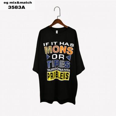 時尚連身裙- 3583A