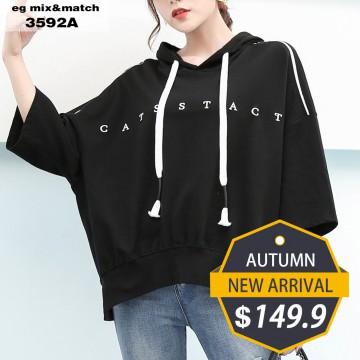 潮款衛衣- 3592A