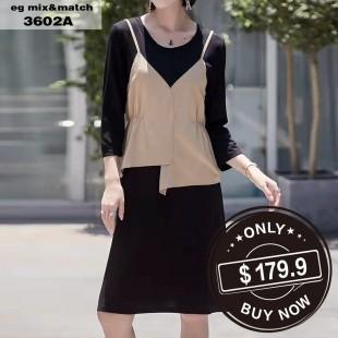 時尚連身裙- 3602A