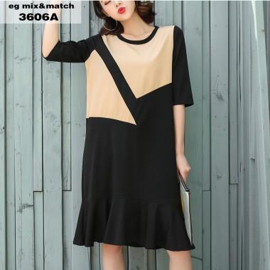 時尚連身裙-3606A