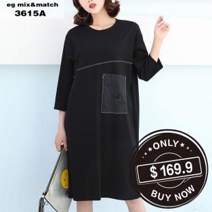 時尚連身裙 - 3615A