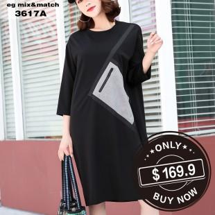 時尚連身裙- 3617A