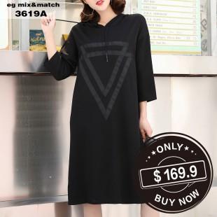 時尚連身裙 - 3619A