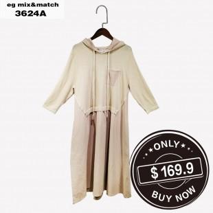 時尚連身裙 - 3624A