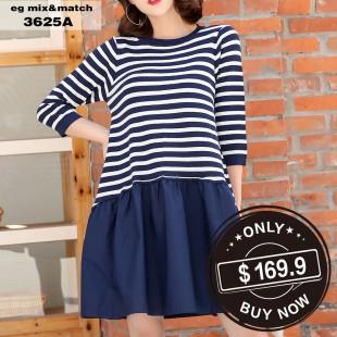 時尚連身裙 - 3625A