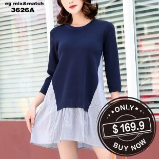 時尚連身裙 - 3626A