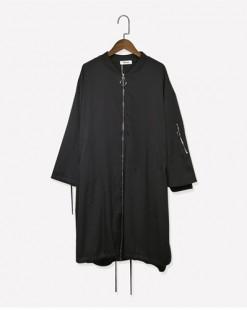 多口袋立領抽繩風衣外套 - 3636A #全店新品4件起75折優惠碼 : -25OFF (HK$173) #