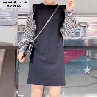 時尚連身裙 - 3720A