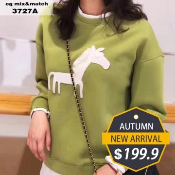 潮款衛衣- 3727A