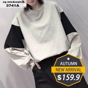 潮款衛衣- 3741A
