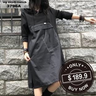 時尚連身裙-3797A
