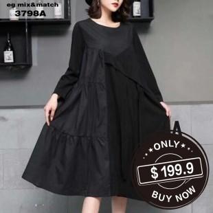 時尚連身裙-3798A