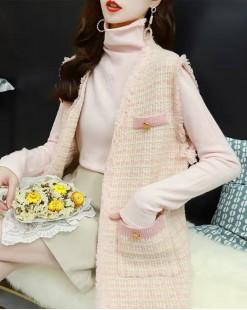 【新品】 韓版氣質背心外套 - 3932A  #全店新品4件起75折:HK$120 #