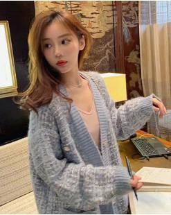 【新品】 韓版混線開胸外套 - 3933A  #全店新品4件起75折:HK$150 #