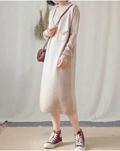 【新品】圓領淨色上衣+大V領背心連身裙 - 3942A #全店新品4件起75折:HK$150#