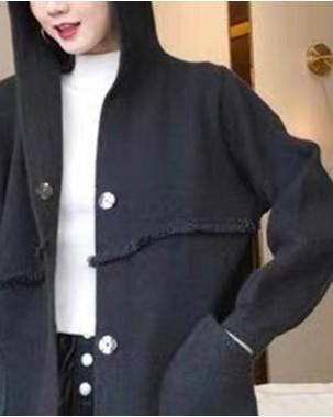 【新品】簡約雙口袋鈕扣長外套 - 3946A #全店新品4件起75折:HK$319 (韓國直送)#