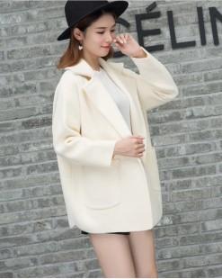 【新品】  雙面毛呢大口袋短外套 - 3960A                      #全店新品4件起75折:HK$248 #