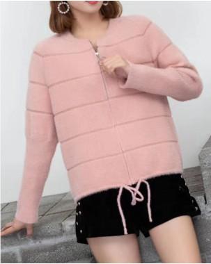 【新品】  圓領絨毛保暖外套 - 3966A     #全店新品4件起75折:HK$180 #