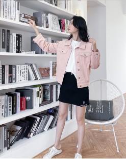 彩色棉牛仔外套 - 4444A #全店新品4件起75折優惠碼 : -25OFF (HK$203)