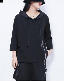 【新品】有帽純棉短T - 4547A #全店新品4件起75折優惠碼 : -25OFF (HK$120) #