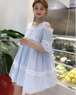 【新品】露膊哩士水洗布恤衫 - 4642A #全店新品4件起75折優惠碼 : -25OFF (HK$113) #
