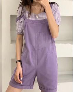 Final Sale 最後勁減,全場連身裙/套裝單件65折 - 背帶工人短褲 - 5082A