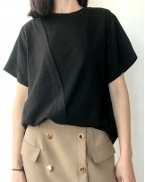 Crazy Summer 最後勁減,全場Tshirt單件82折 - 淨色純棉短Tee - 5203A